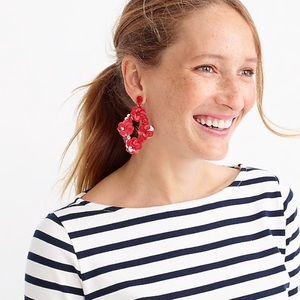 J CREW | Sequin Statement Earrings